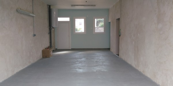Garage vue vers l'interieur