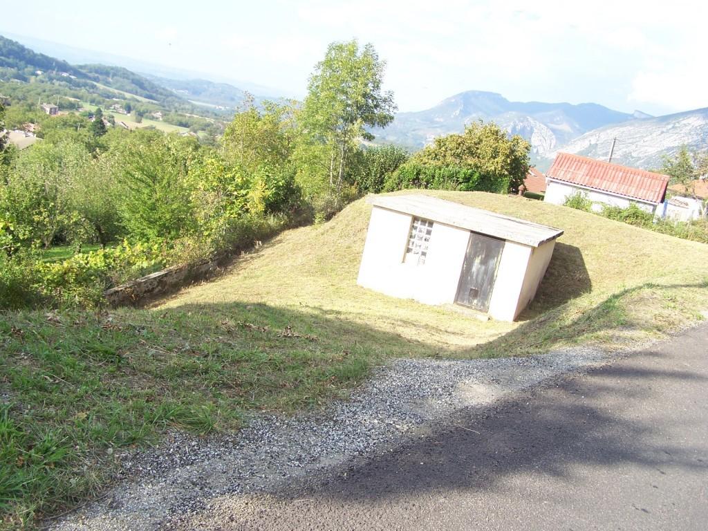 Réservoir d'eau en Drôme