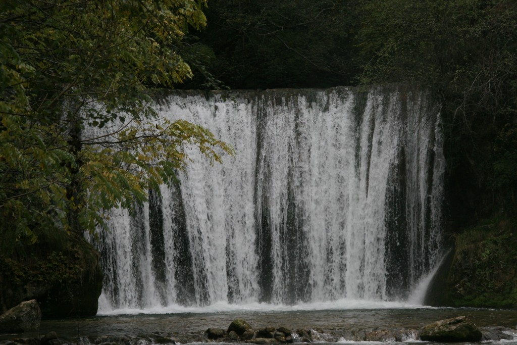 La cascade blanche à Saint Eulalie en Royans