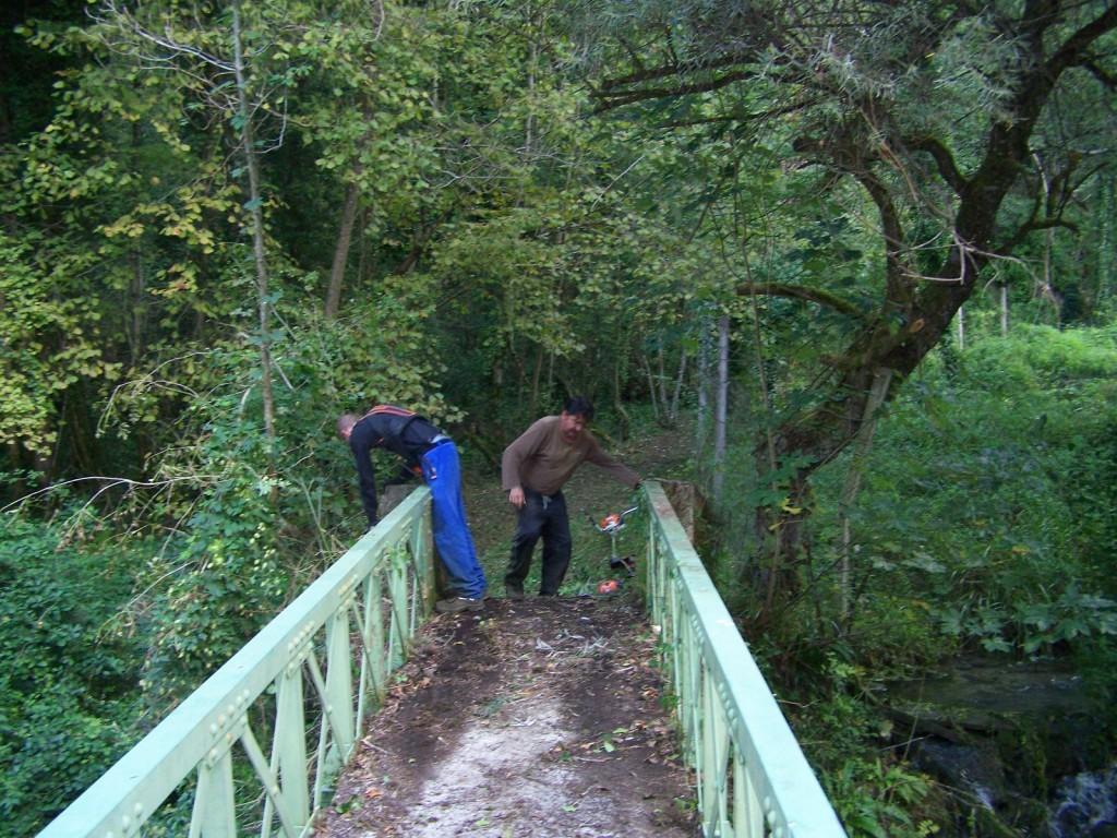 pont de randonnée