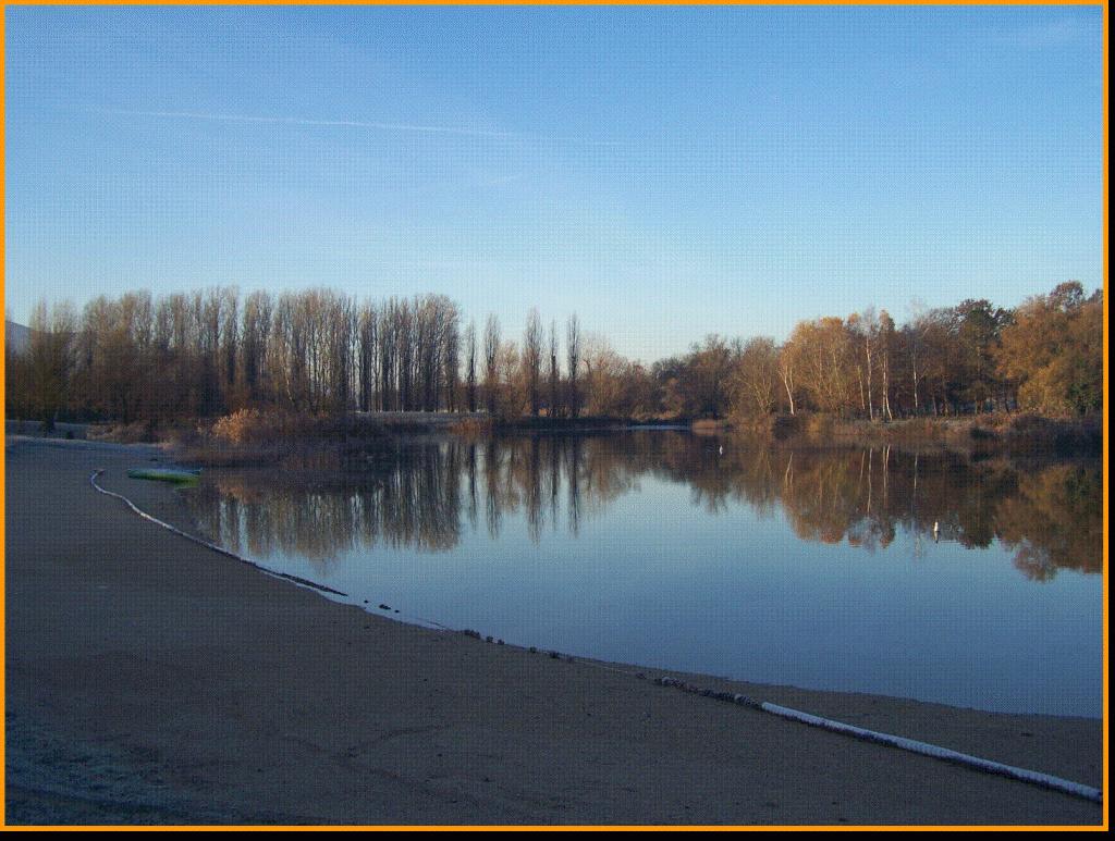 Vue sur le lac du marandan