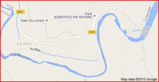 Berges De La Bourne, Pont-en-royans 38680
