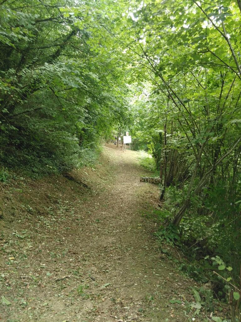 """Le chemin est entretenu régulièrement """" taille des herbes hautes et élimination des ronces"""""""