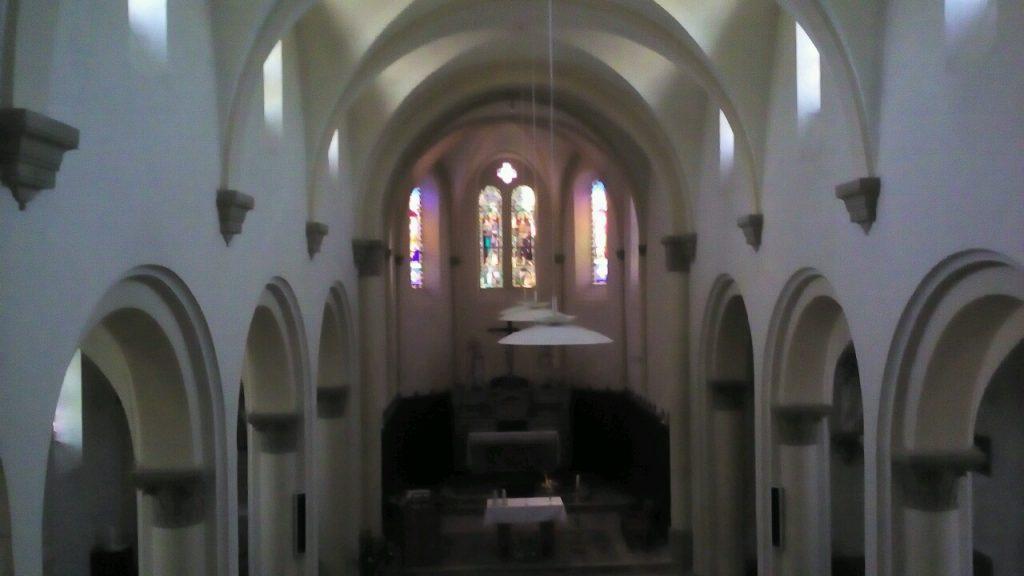 Nef église sud Grésivaudan
