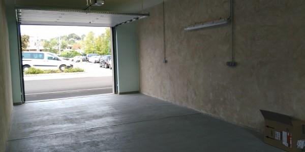 Vue extérieur garage
