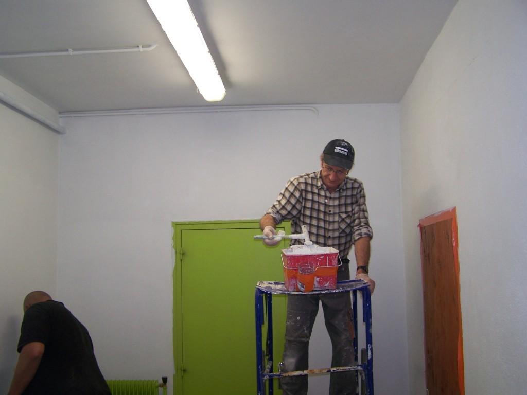 Peinture en bâtiment