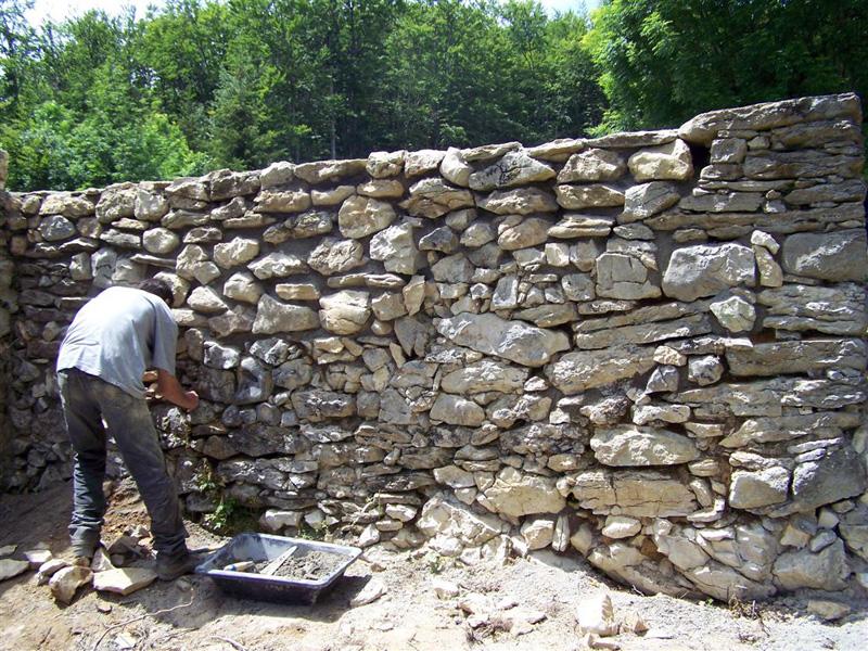 Murs en pierre
