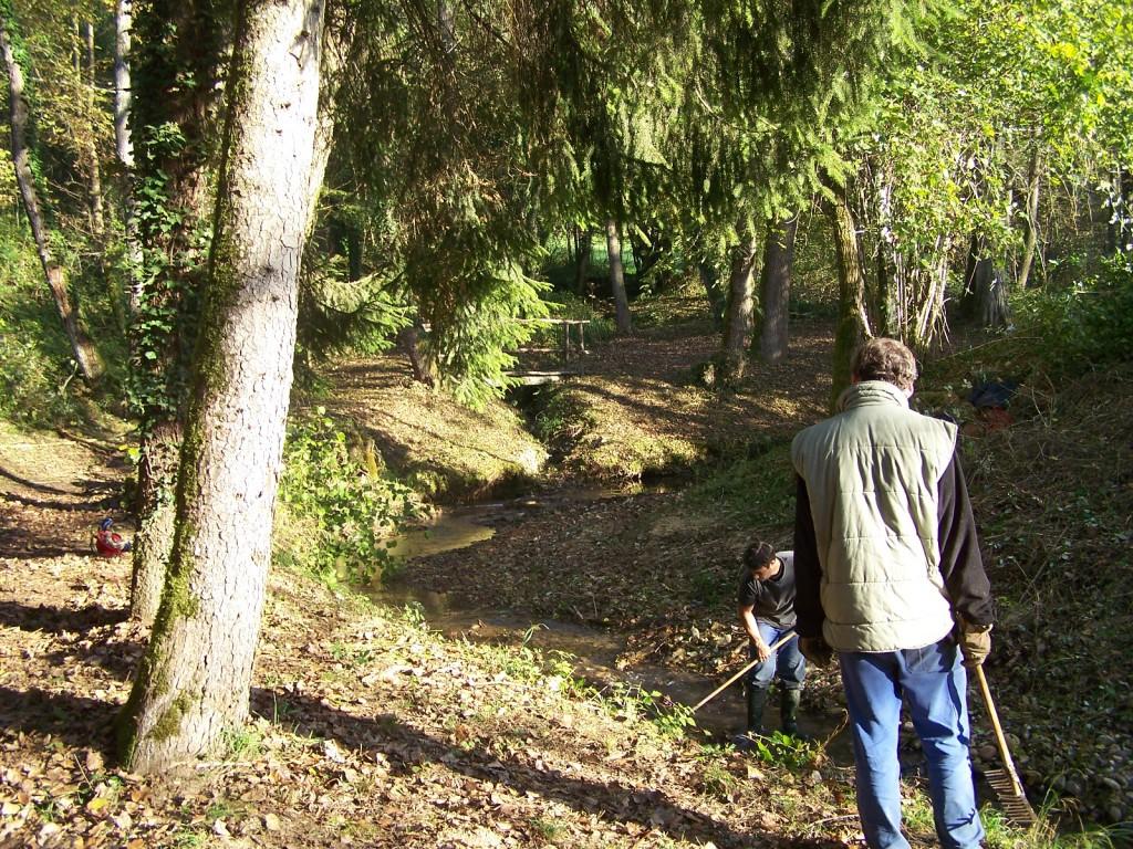 """Entretien du Ruisseau """" Le Tarze"""