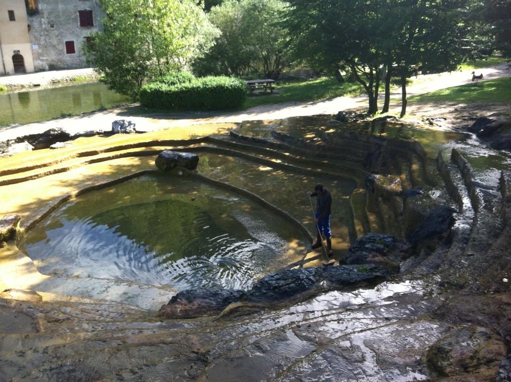 Bassin pont en royans