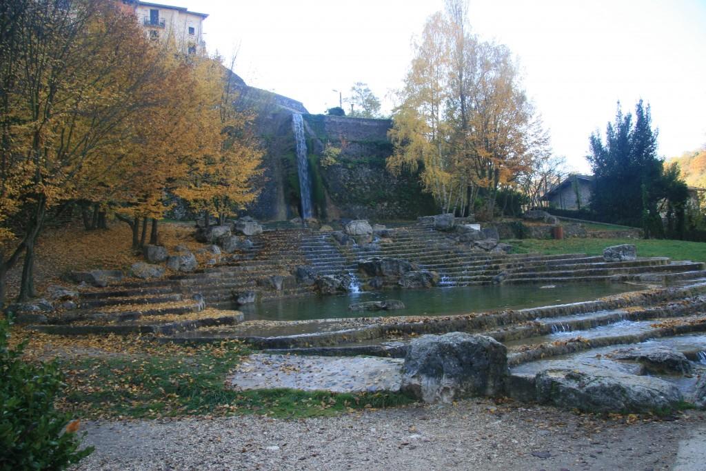 La cascade pont en Royans