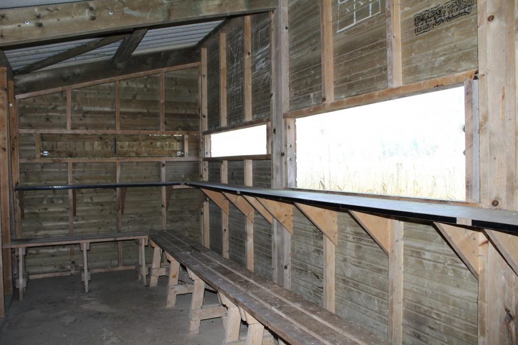 """Intérieur de la cabane """" Martin Pêcheur """""""
