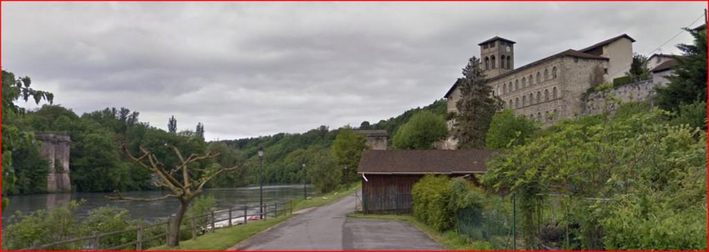 Vieux pont de La Sône
